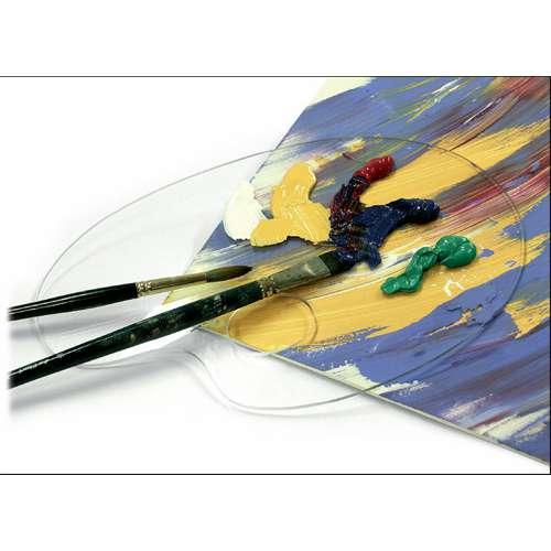 Oval Plexiglass Palette