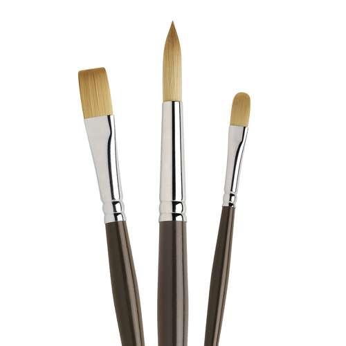 I Love Art Acrylic Brush Set