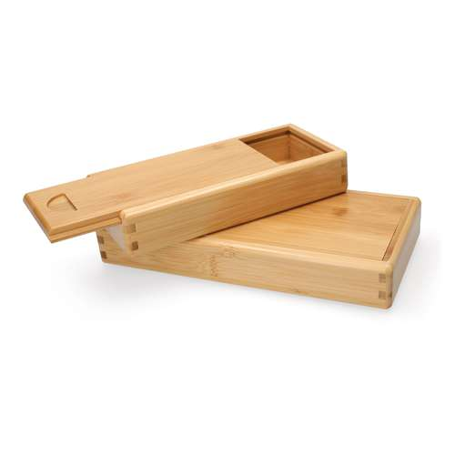 Empty Bamboo Boxes