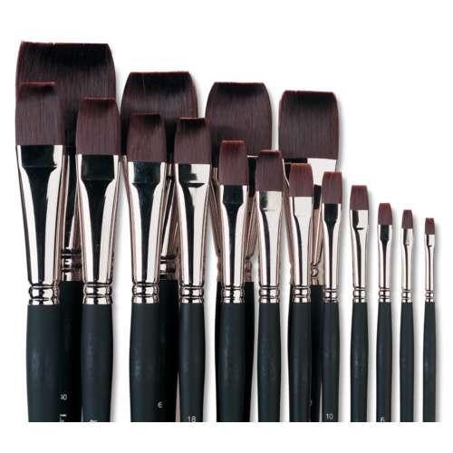 Lascaux Flat Acrylic Brushes