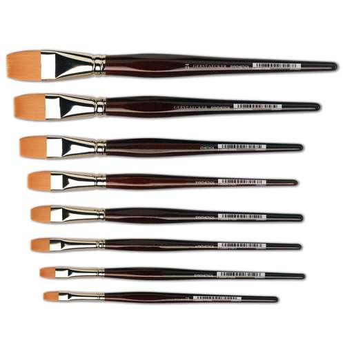 Gerstacker Synthetic Flat Brushes