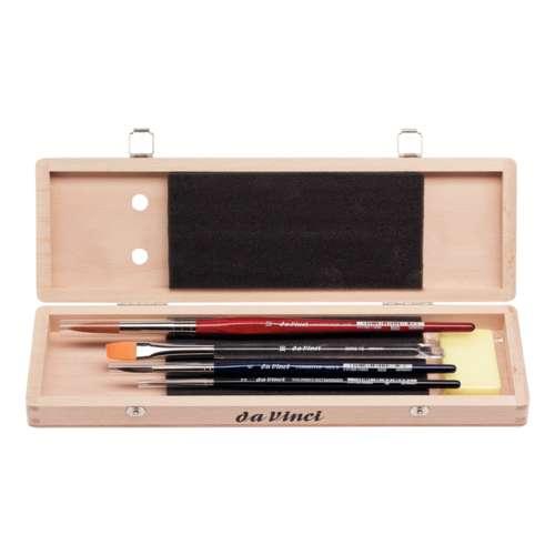 Set Of 4 Da Vinci Watercolour Brushes