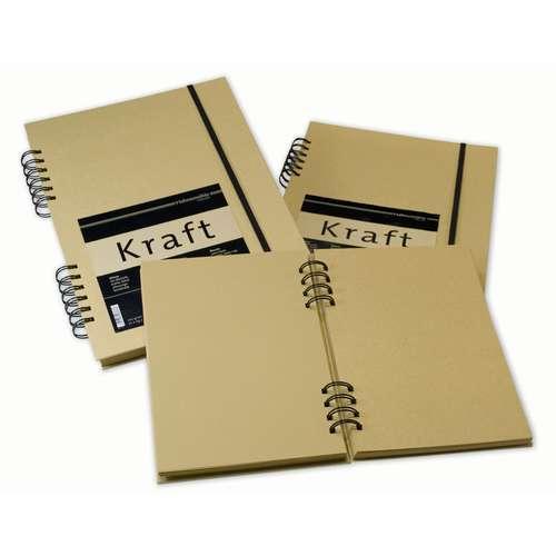 Hahnemühle Kraft Paper Ring Bound Sketchbooks