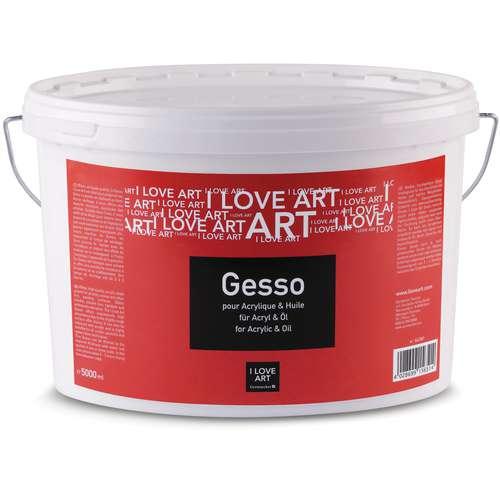I Love Art Gesso