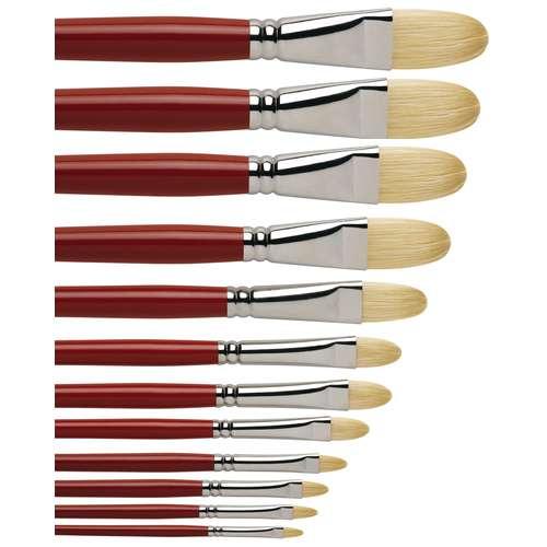 I Love Art Filbert Bristle Oil Brush
