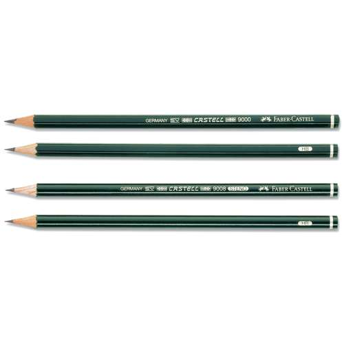 Faber-Castell 9000 Pencils