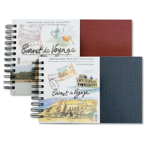Lana Watercolour Travel Book