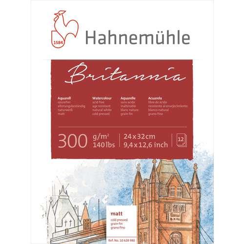 Hahnemuehle Britannia Watercolour Blocks