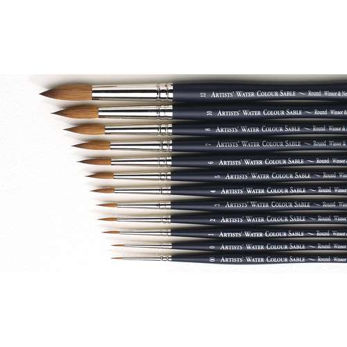 Winsor & Newton Artists' Watercolour Round Sable Brushes