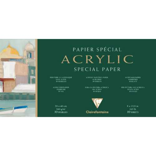 Clairefontaine Acrylic Special Paper Blocks