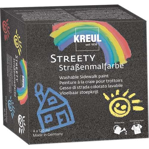 Kreul Streety Washable Pavement Paint Starter Set
