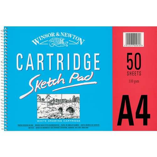 Winsor & Newton Spiral-Bound Cartridge Sketch Pads