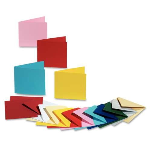 Folia Colour Postcards, 5 cards, 220gsm