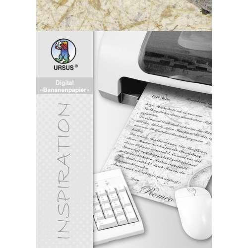 Pack Of 10 Ursus Banana Digital Paper Sheets