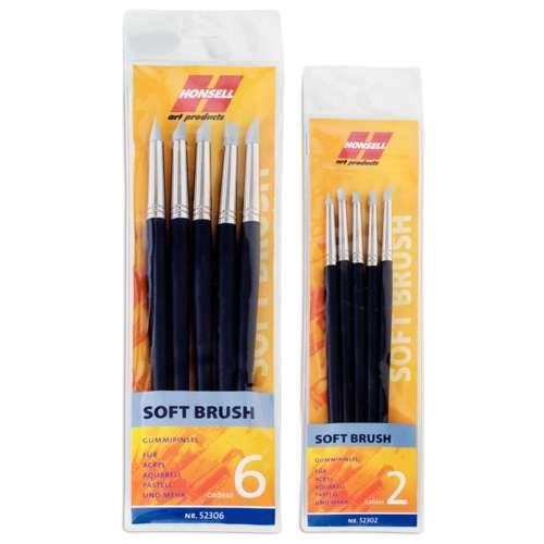 Honsell Soft Rubber Brush Sets