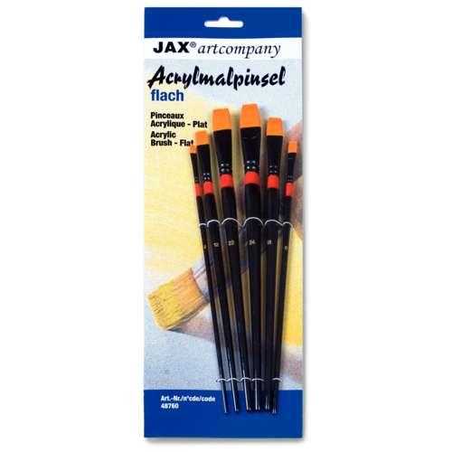 JAX Flat Synthetic Brush Set