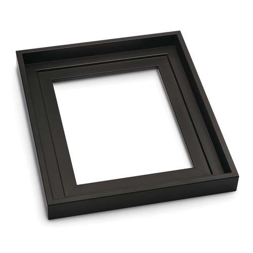 I Love Art Stepped Profile Black Floater Frames