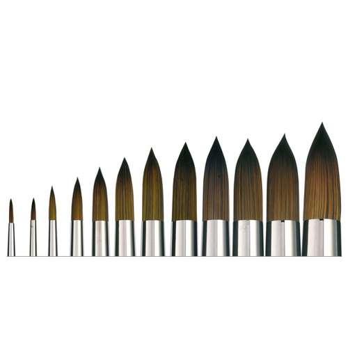 Isabey Isacryl Series 6512 Round Brushes