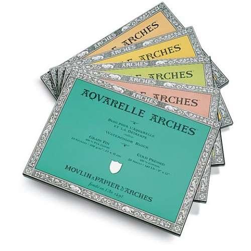 Arches Aquarelle Watercolour Blocks/Pads