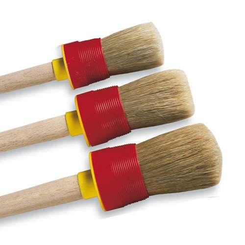 Round Bristle Brushes