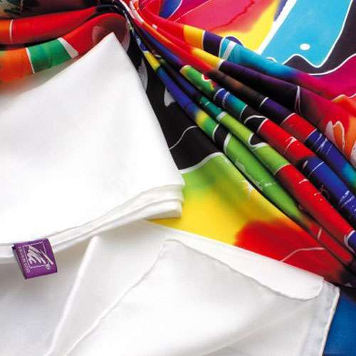 Ideen White Silk Squares