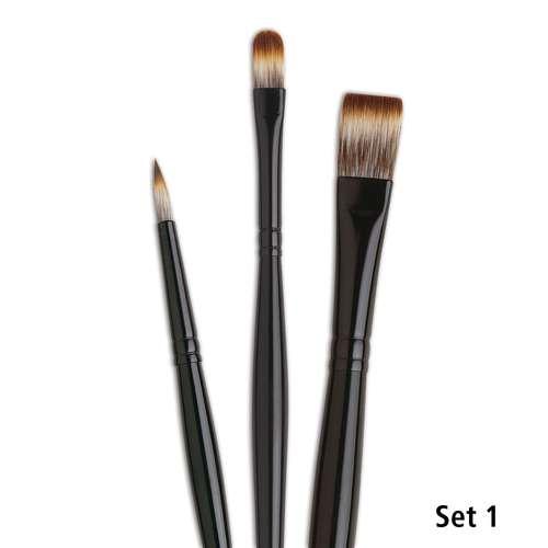 I Love Art Mongoose Acrylic Brush Sets