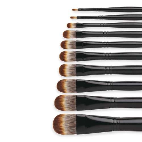 I Love Art Filbert Mongoose Acrylic Brushes
