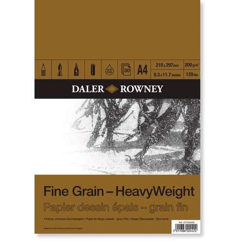 Daler-Rowney Fine Grain Heavyweight Pad