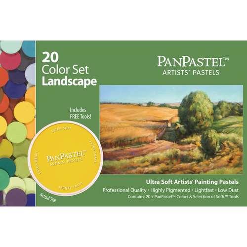 PanPastel Ultra Soft Artists 20 Pastel Sets