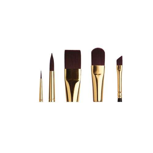 Léonard Black Ruby Acrylic Brush Set Series 30