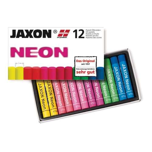 Jaxon Neon Oil Pastel Set