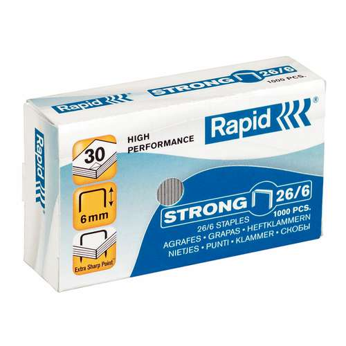 Rapid Strong Staples 26/6