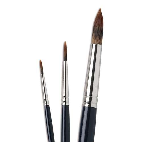 I Love Art Detail Watercolour Brush Set