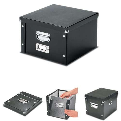 Snap'n'Store Black Storage Boxes