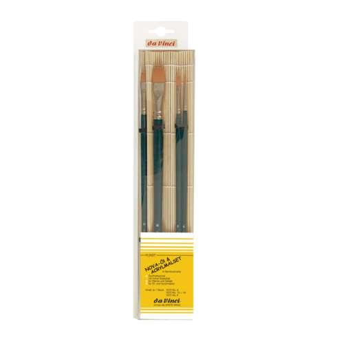 da Vinci Nova Oil and Acrylic Brush Set Series 5378