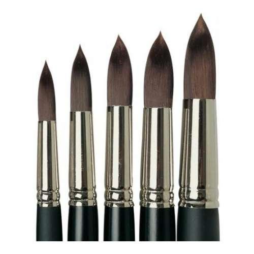 Lascaux Round Acrylic Brushes