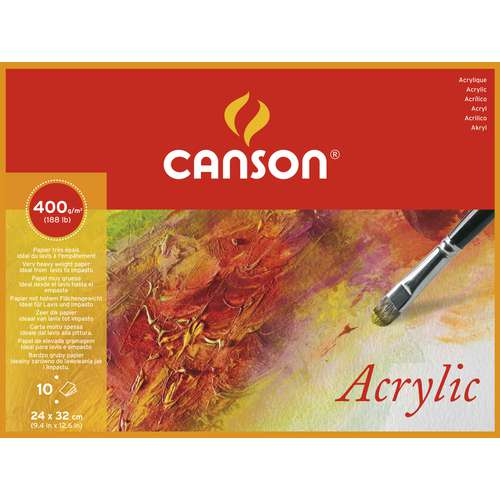 Canson Montval Acrylic Painting Pad