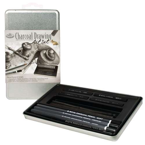 Royal & Langnickel Charcoal Drawing Art Set 2503