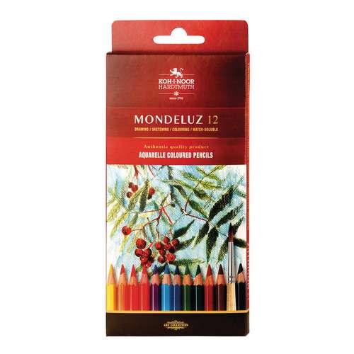 Koh-I-Noor Mondeluz Watercolour Pencils