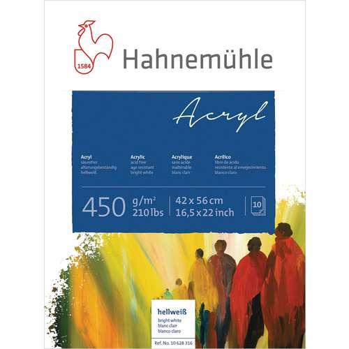 Hahnemuehle Acrylic Painting Paper Blocks 450gsm