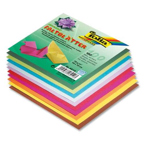 Folia Origami Paper - Intense Colours