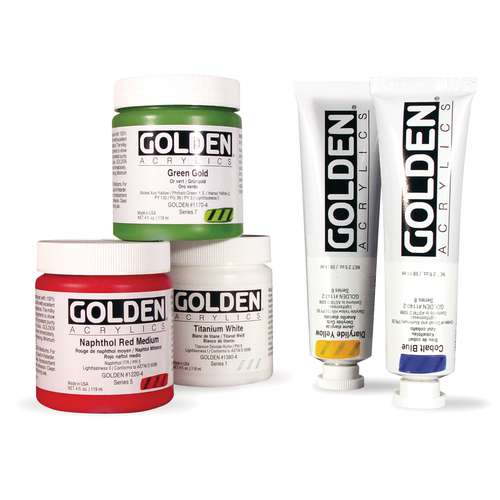 Golden Heavy Body Acrylic Paint