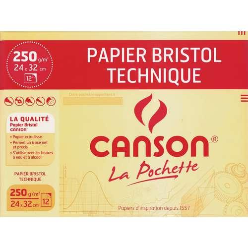 Canson Bristol Paper Pouch