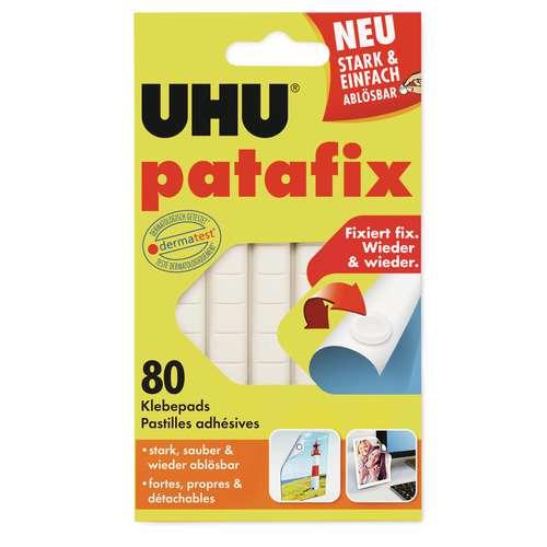 Uhu Patafix Transparent Removable Adhesive Pads