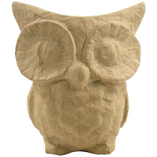 Décopatch Papier Mâché Owls