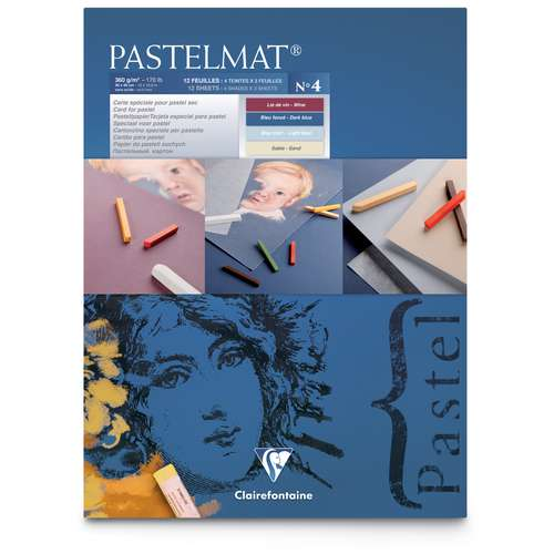 Clairefontaine Coloured Pastelmat Pad No. 4