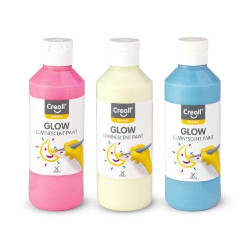 Creall Glow Luminescent Paints