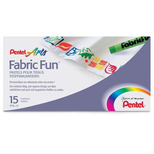 Pentel Arts Fabric Fun Pastel Sets