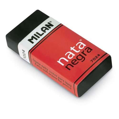 Milan Plastic Black Eraser