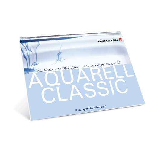 Gerstaecker Aquarell Classic Watercolour Paper Blocks